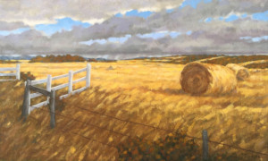 Springbank Afternoon, oil, 16x24, oil, SOLD
