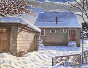 Kimberley Home 2, 16x20, framed, SOLD
