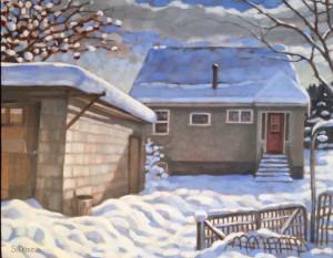 Kimberley Home 2, 16x20, framed, SOLD