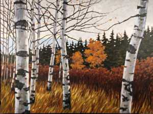 Maclean Meadows, oil, 30x40, framed, $2380